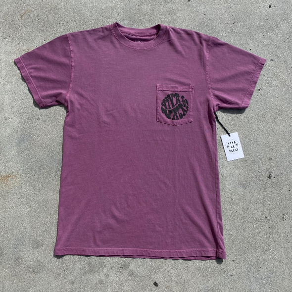 VIVA PURPLE HAZE DECADE POCKET TEE