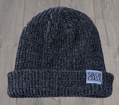 SOUTH COAST ADULTS CAMPER BEANIE HEATHER BLACK