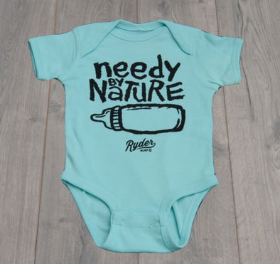 RYDER NEEDY BY NATURE ONESIE CHILL