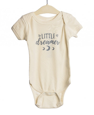 RYDER LITTLE DREAMER ONESIE NATURAL