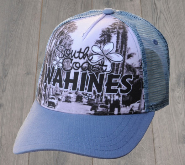 SOUTH COAST WAHINES TRUCKER HAT