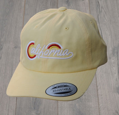 CALIFORNIA DAD HAT YELLOW