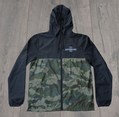 CROSS LOGO JACKET BLK/CAMO