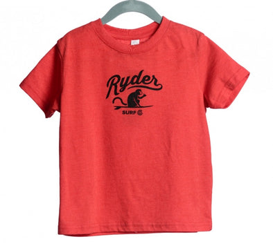 RYDER MONKEY TEE RED