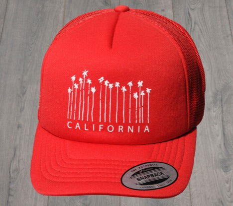 PALM CITY TRUCKER RED