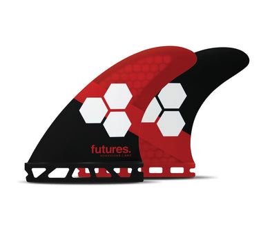 FUTURES AM3 HONEYCOMB THRUSTER SURFBOARD FINS