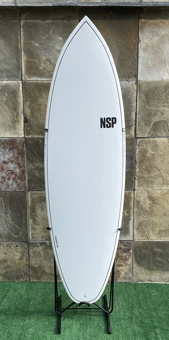 NSP ELEMENTS TINDER-D8 SURFBOARD 6'0""