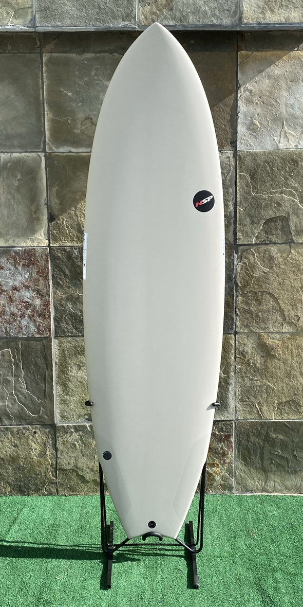 NSP PROTECH FISH SURFBOARD 6'4""
