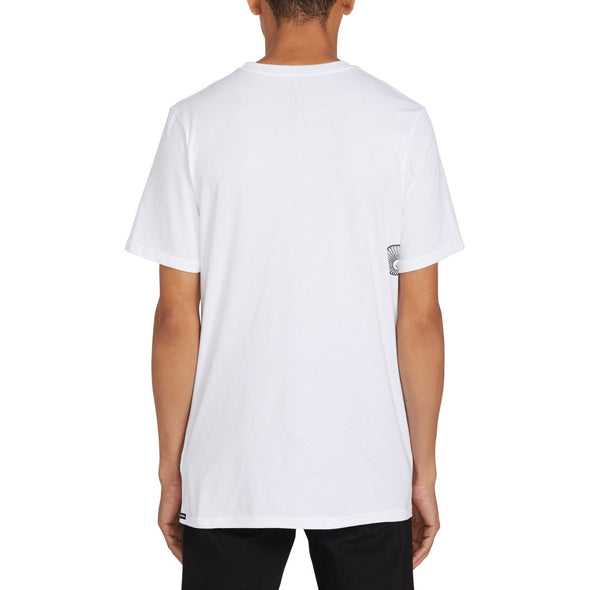 Reply Short Sleeve Tee - White