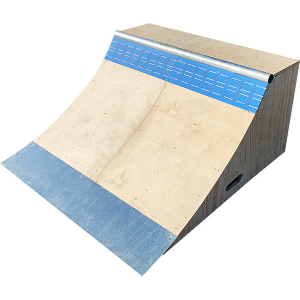 Brad Mcclain Blue Tile Quarter Pipe