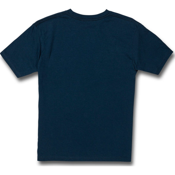 BIG BOYS SHARKISH SHORT SLEEVE TEE - HARBOR BLUE