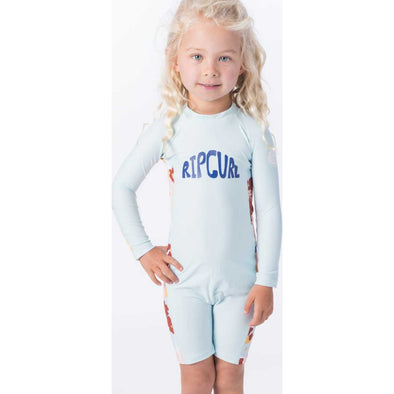 Mini Long Sleeve UV Spring Suit in Blue