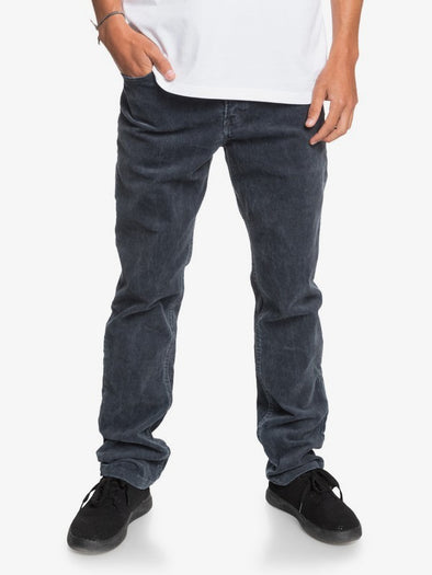 QUIKSILVER MENS KRACKER CORD STRAIGHT FIT CORDUROY PANTS