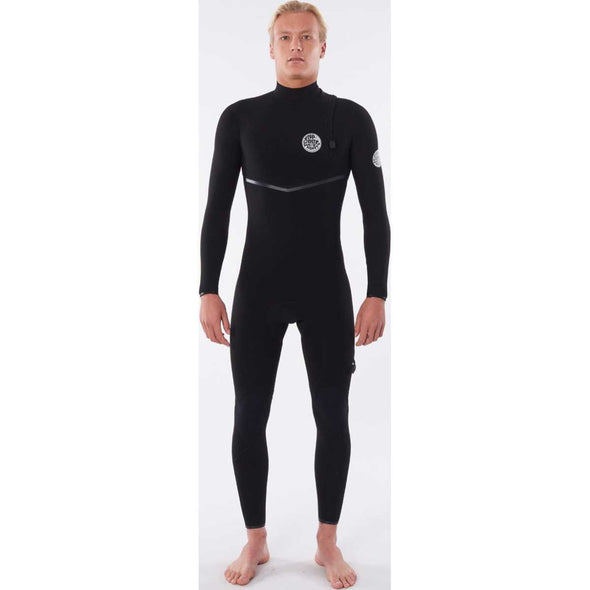 E-Bomb 3/2 Zip Free Wetsuit in Charcoal Grey