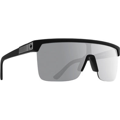 Flynn 5050 Soft Matte Black - HD Plus Gray Green Polar with Silver Spectra Mirror