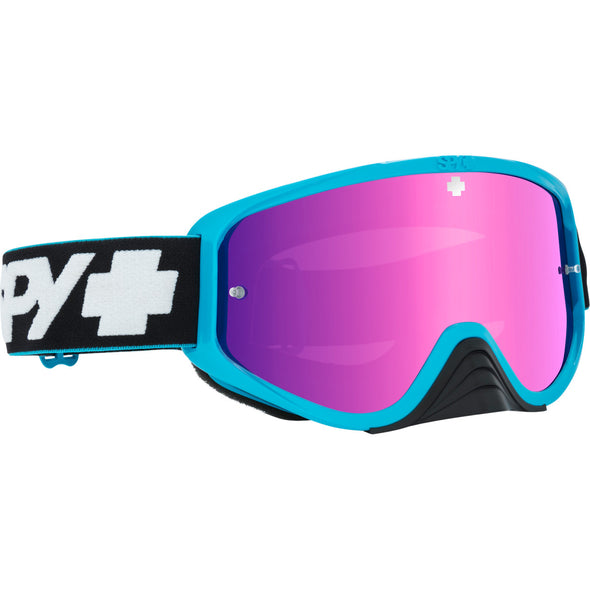 Woot Race Slice Blue - HD Smoke with Pink Spectra Mirror - HD Clear