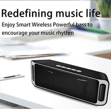 Load image into Gallery viewer, Bluetooth Speaker Wireless Portable Stereo Sound Big Power 10W System