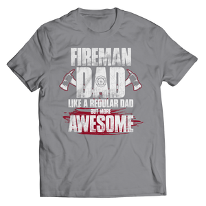 Fireman Dad More Awesome