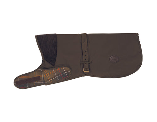 Barbour Mat Wax D Coat Olive