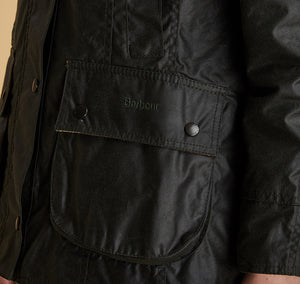 Barbour Beadnell Wax J Sage