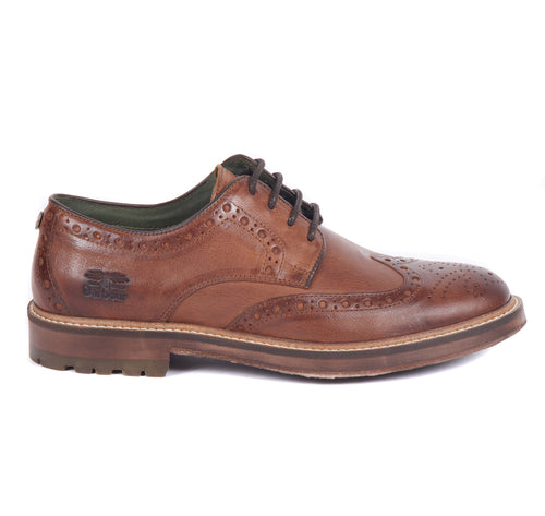 Barbour Ouse Brogue Tan