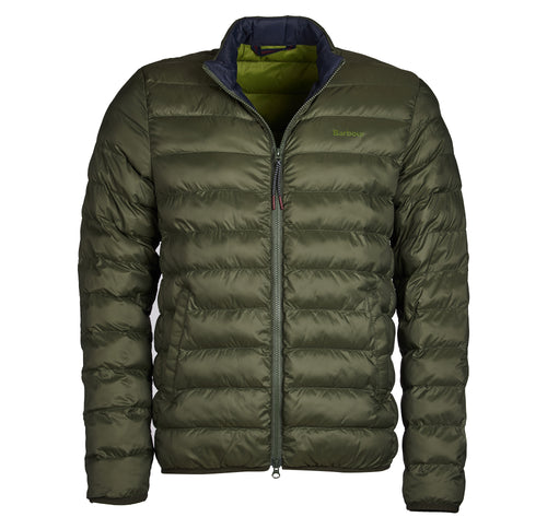 Barbour Nigg Quilt Olive