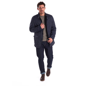 Barbour Doister Polarquilt Navy