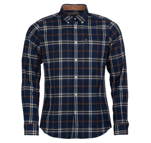 Barbour High Chk 20 TF Blue