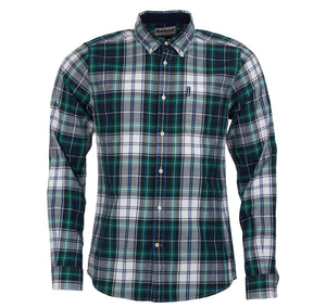 Barbour High Chk 20 TF Green