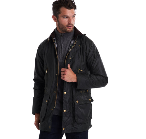 Barbour M Icons Beaufort Sage