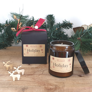 Holiday Candle / Vegan / Festive *NEW*
