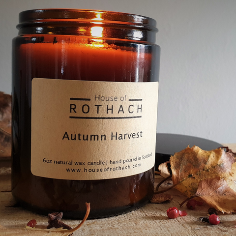 Autumn Harvest Candle / Vegan *NEW*