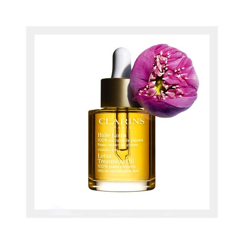 Lotus Face Treatment Oil - Gemengde of vette huid