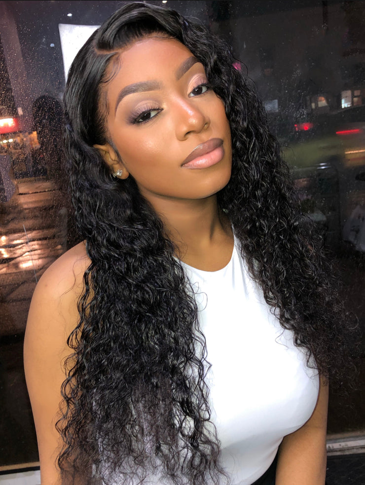 Porsha Deep Wave Frontal Wig