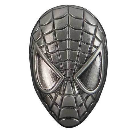 Spider-Man Head Pewter Lapel Pin