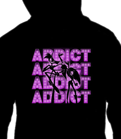 ZIP UP HOODIE ADDICT SHOWTIME! *LIMITED RUN*