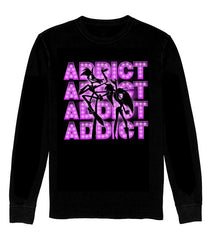 LONG SLEEVE SHIRT ADDICT SHOWTIME! *LIMITED RUN*