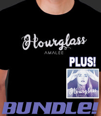 BUNDLE Hourglass Tee + SIGNED EP Audio CD PRE-ORDER