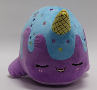 Nomwhal Blue Moon Plush