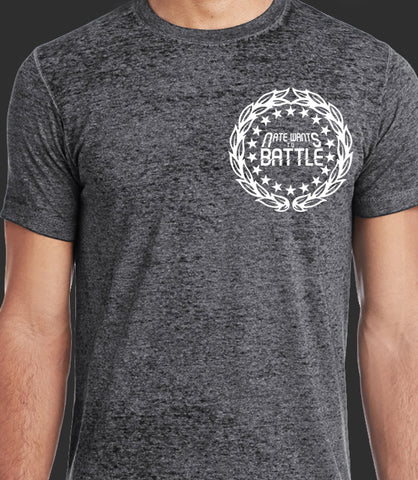 NateWantsToBattle Crest Acid Wash Tee *CLEARANCE*