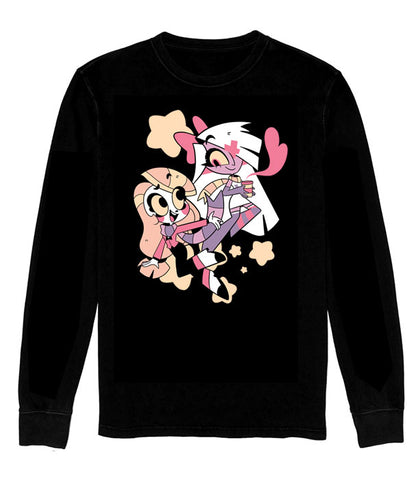 LONG SLEEVE SHIRT CUTE Vaggie and Charlie *LIMITED RUN*