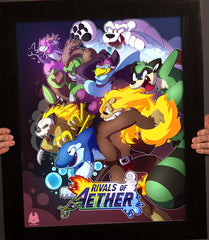 Rivals of Aether Wolfiisaur Poster