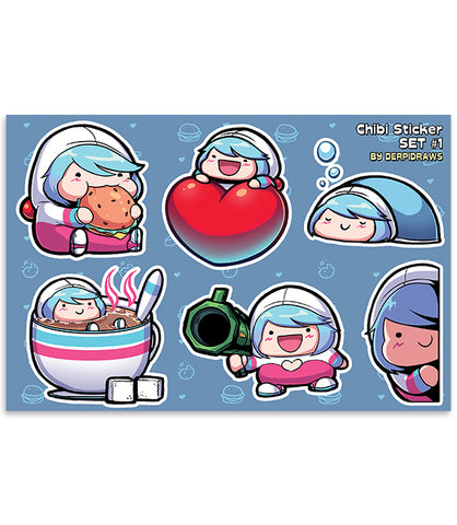 Chibi Sticker Set 01