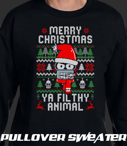 UGLY SWEATER Ya Filthy Animal *LIMITED RUN*