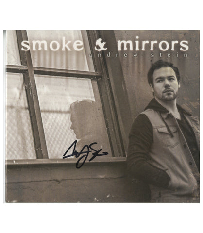 Smoke and Mirrors SIGNED Audio CD