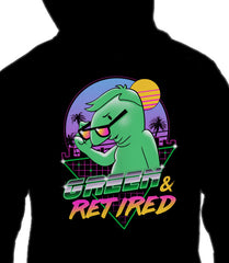 ZIP UP HOODIE Green and Retired *LIMITED RUN*