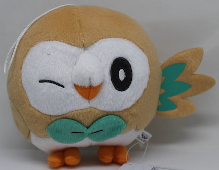 Pokemon Sun And Moon Rowlet 55 Plush Shark Robot