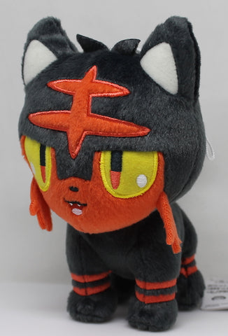 "Pokemon Sun and Moon: Litten 7"" Plush"