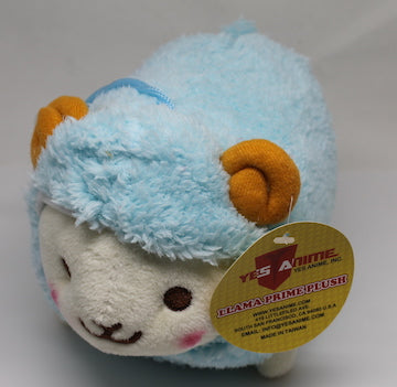 "Prime Fluffy Sheep 6"" with Sound Plush (Blue)"