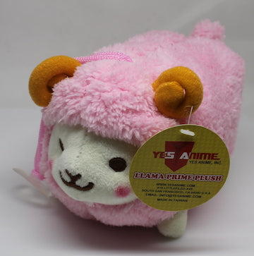 "Prime Fluffy Sheep 6"" with Sound Plush (Light Pink)"